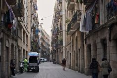 """Raval (an evolving district that was once a """"no go"""" zone) - Barcelona, Spain"""