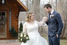 Lovely snowy winter wedding at Elope Niagara Snowy Wedding, Winter Wonderland Wedding, Chapel Wedding, Christmas Wedding, Fall Wedding, Niagara Falls Wedding, Christmas Themes, Wedding Couples, Wedding Photography