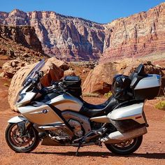 This K 1600 GTL took @chuckpryor to the Marble Canyon in Arizona, USA.  Where will you tour next? #touring #K1600GTL #bmwmotorrad #MakeLifeARide