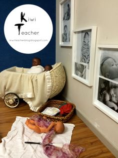 Kiwi Teacher. This provocation was set up in response to this interest with photos of infants being cared for in different ways such as sleeping, being fed a bottle, being winded, played with and cuddled.