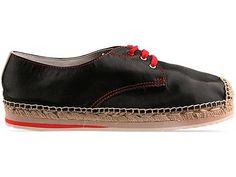 Veletto Espadrille Shoe Mens in Negro at Solestruck.com