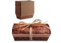 Paper Loaf Pans - need to stock up for the holiday treats!