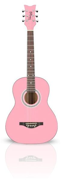 Pink Debutante Guitar (for the aspiring young musician).  Okay, who knew there is such a thing as a Pink Superstore?!?Awesome.