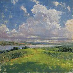 Elizabeth Pollie landscape oil painting Raymarart Painting Competition Finalist