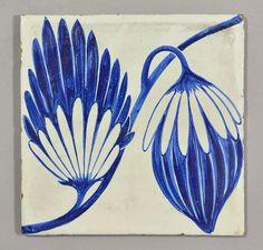 William De Morgan tile | Flickr - Photo Sharing!