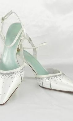 Wedding Dress Accessories - Shoes White 9.5 FiFi by Filippa Scott Nicole $128 USD - New With Tags