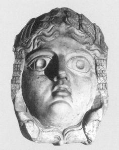 """""""La máscara representa a la diosa Ceres.Ceres (asimilada a la griega Deméter) es la diosa de la fecundidad de la tierra, estrechamente relacionada con Dionisio y Perséfone."""" Información y Foto tomada de Almendron."""