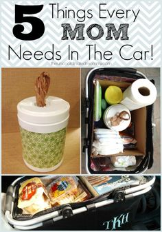5 Things Every Mom Needs In The Car - The Un-Coordinated Mommy - Atlanta Mom Blogger