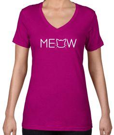 Meow V-Neck