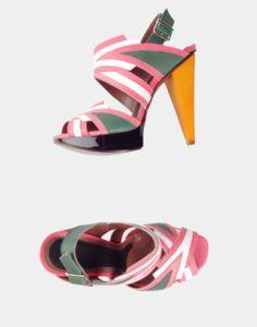 Marni color heel shoes