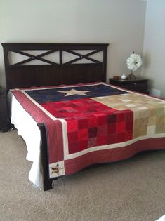 Oh my gosh @vintagesparrow7 - Texas Flag quilts instructions