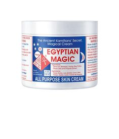 Egyptian Magic Cream. Miracle worker. I am not even kidding.