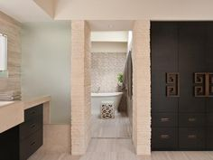 UNIQUE CONTEMPORARY BATHROOM