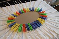 Мастер-класс Поделка изделие Плетение МК по обтягиванию картона тканью Картон Клей Ткань фото 26