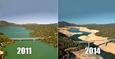 You Still Think Climate Change Is A Hoax? These 20 Before-And-After Photos Will Leave You Speechless!