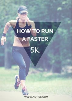 Want to run a faster 5K come race day? Start by breaking it down to two main…