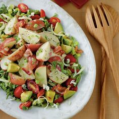 Main-Dish Salads: Cobb Potato Salad
