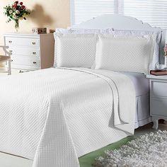 Cobre-leito Color Queen com 2 Porta-travesseiro
