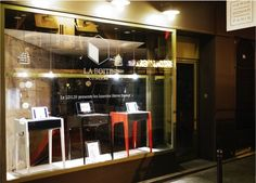 Hervé Domar's window in Paris x La Boite Concept