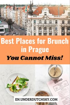 Prague Travel Guide, Travel Tips For Europe, Cities In Europe, Budget Travel, Places To Eat, Cool Places To Visit, Best Brunch Places, Amsterdam Things To Do In, Worlds Of Fun