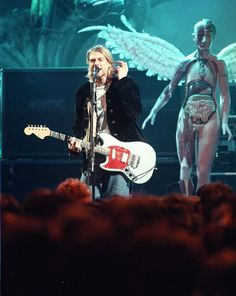Kurt Cobain of Nirvana MTV 1993