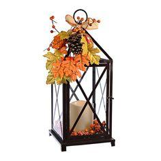 Autumn Floral LED Lantern | Kirklands