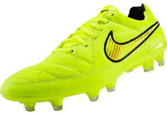Nike Tiempo Legacy FG Soccer Cleats - Volt