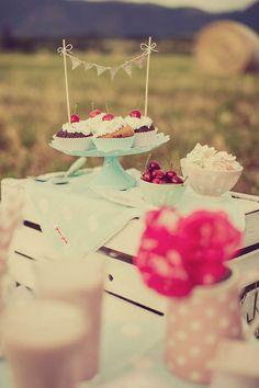 50s picnic anniversary session