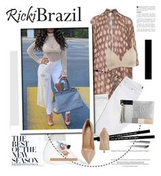 """""""Rickybrazil.com: The best of the new season"""" by hamaly ❤ liked on Polyvore featuring GRIZAS, Chantelle, Chanel, Sergio Rossi, Christian Dior, outfit, ootd, blouse and rickibrazil"""