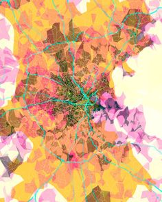 prettymaps (boston), by Aaron Straup Cope - 20x200 (from $60)