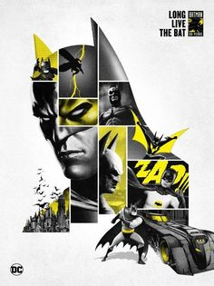 SXSW: DC Comics to Release a Million-and-a-Half Bats For Batmans Birthday - Batman Poster - Trending Batman Poster. - SXSW: DC Comics to Release a Million-and-a-Half Bats For Batman's Birthday Bob Kane, Batman Poster, Batman Artwork, Batman Logo, Batman Wallpaper, Batman Begins, Batgirl, Gotham, Illustration Batman