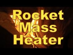Geodesic Dome Greenhouse - Part 10 - ROCKET MASS HEATER