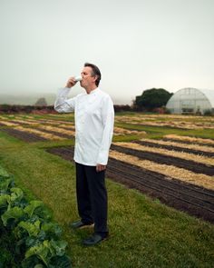 Thomas Keller, French Laundry by Jeff Singer