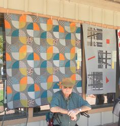 Portland Modern Quilt Guild: PMQG at Sisters Outdoor Quilt Show 2013