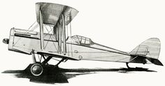 vintage airplane illustration is from a magazine that was published in 1919