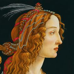 chloefrancillon:  Portrait of a Young Woman (detail) by Sandro Botticelli