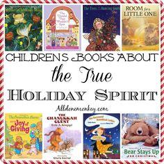 Children's Books About the True Holiday Spirit   Alldonemonkey.com @alldonemonkey- /pragmaticmom/christmas/ BACK