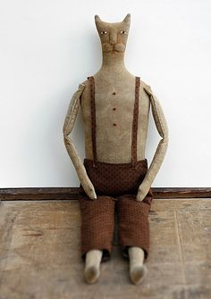 'Primitive Folk Art' Dolls