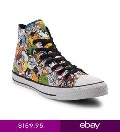 3bd9c7026331cf NEW Converse Chuck Taylor All Star Hi Looney Tunes Sneaker Multi Print MENS