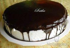 Kakaós túró rudi torta