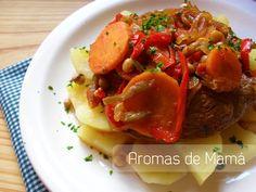 Aromas de Mamá | Recetas de Cocina: Bifes a la portuguesa