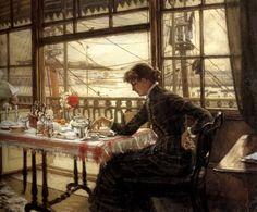 James Jacques-Joseph Tissot (1836 – 1902) pintor y grabador francés