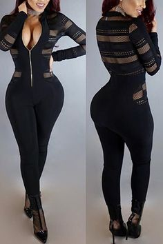 mlvs.lovelywholesale.com wholesale-sexy+round+neck+long+sleeves+gauze+patchwork+polyester+one-piece+skinny+jumpsuits-g153707.html