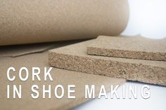 Cork in shoe making is natural, irreplaceable and most commonly used material. In this post I will discuss this wonderful material , when and why we use it in shoe making. Personally I use cork in shoe making frequently and you should too. Let's see why?