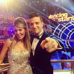 Here's looking at you #CandacecBure & #MarkBallas . They're gonna be rockin the ballroom floor later tonight! #DWTS Week 3 (3/31/14) #TeamCandace