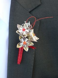 possible buttonhole design (not red though)