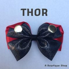thor hair bow by abowtiqueshop on Etsy, $6.50