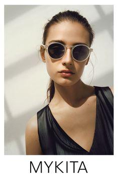 Sunglasses and eyeglasses from MYKITA®. Handmade in Berlin. Sunglasses Online, Round Sunglasses, Sunglasses Women, Designer Prescription Glasses, Berlin, Beach Look, Fashion Outlet, Eyeglasses, Eyewear