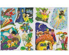 Bokmärken SAGOVÄSEN MED VINGAR Vingar, Bloomsbury, Vintage Paper, Nostalgia, Scrap, English, Painting, Art, Fairies