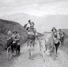 Col du Tourmalet. Tour de France 1927